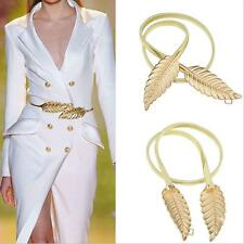 LUXURY Look Gold plated Alloy LEAF Waistband Waist belt for ladies / women