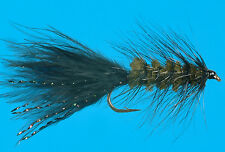 Dark Olive Wooly Bugger 6 pcs. size 8