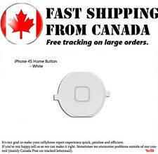 Replacement Home Back Button For iPhone 4S White Home Button Part