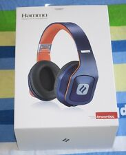 BRAND NEW Noontec Hammo Adjustable Over Ear Stereo Hi-Fi Earphone Headphone Blue