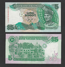 Malaysia 5 Ringgit 6th series (1986-1991) P28a With CROSS - Choice UNC