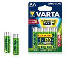 Varta 4x Batterie NiMH AA hr06 1.2v - 2100mah 56706 101 404 Varta