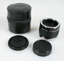 2X TELECONVERTER FOR OLYMPUS OM WITH CASE
