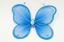 Grand papillon 20x25cm. turquoise. Décoration de mariage