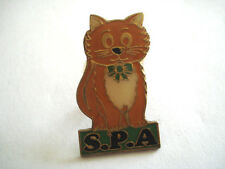 PINS RARE CHAT SPA SOICIETE PROTECTRICE DES ANIMAUX