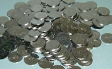 300 STAINLESS SLOT MACHINE TOKENS - NEWLY MINTED DOLLAR SIZE - LOW PRICE !