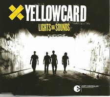 YELLOWCARD Lights and Sounds w/ 2 UNRELEASED & LIVE TRX CD single SEALED 2005