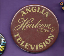 Anglia Television - Heirloom -  Button Badge 1980's
