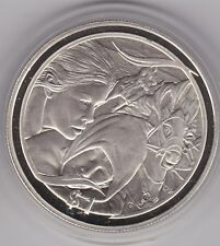 NEW ZEALAND 2003 SILVER PROOF DOLLAR FLIGHT TO THE FORD LORD OF THE RINGS