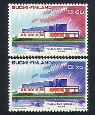 Finland 1973 Nordic House/Building/Architecture/Postal Co-operation 2v (n34072)