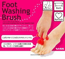 VESS JAPAN FOOT/FEET TOES CLEANER/CLEAN/WASH/WASHING BRUSH(SKIN BEAUTY CARE)