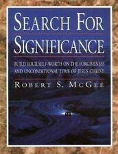 The Search for Significance: Workbook, McGee, Robert S., Good Book