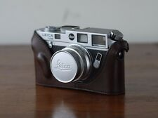 Mr. Zhou Brown Leather Half Case for Leica M2 M3 M4 M6 M7 MP Cameras