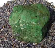 Burmese Maw Sit Sit Chromium Jade Natural Rough 2500 carats Myanmar Kryptonite
