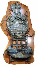 MOLLE II LARGE RUCKSACK FIELD PACK ACU COMPLETE SET UP US Military Issue VG