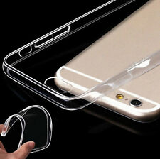 1pc Clear Transparent Crystal Soft TPU Silicone Gel Cover Case for iPhone 6 Plus