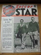24/07/1954 Raich Carters Soccer Star Magazine: [Cover Picture] Ronnie Allen Of W