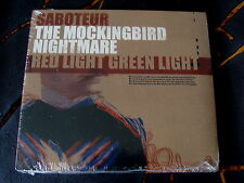 Slip Album: Saboteur / The Mockingbird Nightmare / Red Light Green Light  Sealed