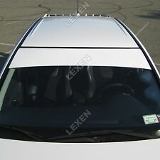 "12""X60"" Sun Visor Strip Vinyl on Front Windshield graphics decal Custom Color a"