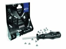 SET OF 50 SCHWALBE REPLACEMENT WINTER TYRE SPIKES COMPLETE WITH  SPECIAL TOOL