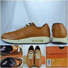 "2003' DS Nike Air Max 1 Premium Leather ""Curry/Med-Curry"" Sz 11 Rare Co.jp"