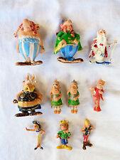 Lot de 10 figurines publicitaires HUILOR - ASTERIX des années 1960.