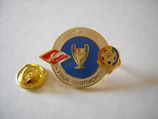 a1 KOSICE - SPARTAK MOSCOW cup uefa champions league 1998 football pins