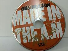 One Direction COA SIGNED Autograph made in the am CD Disc NO PROMO Tour FOUR