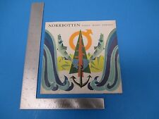 International Travel Brochure Norrbotten Sweden With A Beautiful Map!  M221