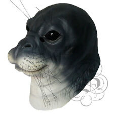 Latex Overhead Realistic Animal Aquatic Seal Fancy Props Carnival Party Mask