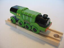 Motorised Battery FLYING SCOTSMAN Train Engine Wooden Track ( Brio Thomas ) NEW