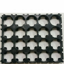 5pcs 18650 Battery 4x5 Cell Spacer Radiating Shell EV Pack Plastic Heat Holder