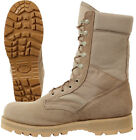 GI Type Desert Tan Boot - Military Tactical Men's Work Boot with Sierra Lug Sole