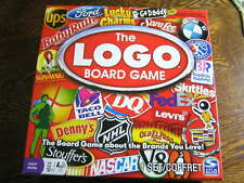 2011 Spin Master The LOGO BOARD GAME For 2-6 Players Ages 12+ Brands You Love!