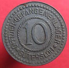 Rare Deutsche token OFFIZIER- GEFANGENENLAGER GÜTERSLOH -12451.3-mehr am ebay.pl