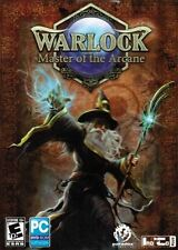 Warlock: Master Of The Arcane - Turn-Based Strategy Fantasy Action PC NEW