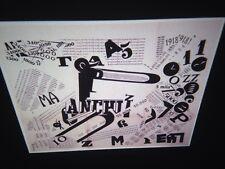 """F. T. Marinetti """"futurist Words-in-freedom 1919"""" 35mm Futurism Italian Art Slide"""