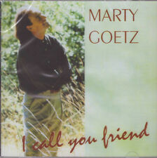 I Call You Friend by Marty Goetz Brand New Rare CD
