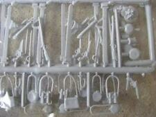 Marx Civil War Weapons Accessory Set 54MM 1/32 toy Soldier Playset musket sword