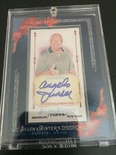 2011 Topps Allen & Ginter Angelo Dundee Auto Autographed Muhammad Ali Trainer