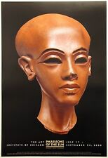 Pharaohs of the Sun -  Egypt Head of a Princess  exhibition poster linen backed