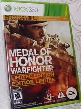 Medal Of Honor Warfighter Limited Edition Xbox 360 New Sealed Free Shipping
