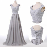 2015 PLUS SIZE Bridesmaid Wedding Formal Party Evening Gown Long Prom Maxi Dress