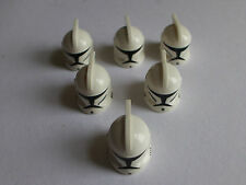 LEGO STAR WARS MINIFIGURES-Clone Trooper CASCHI originali-x6 per la vendita