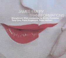 JAMES EMERY: TRANSFORMATIONS (718751019720) NEW CD