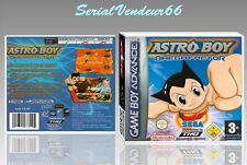 "BOITIER DU JEU ""ASTRO BOY OMEGA FACTOR"", GAME BOY ADVANCE, FR. SANS LE JEU."