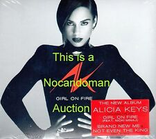 SEALED NEW RARE PROMO ONLY ALICIA KEYS GIRL ON FIRE CD WITH NICKI MINAJ MAXWELL