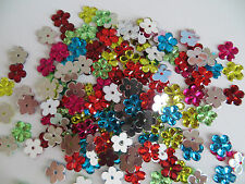 Sew On, Stitch On, Stick on DIAMANTE Crystal Rhinestones CRAFT MIX Daisy Flowers