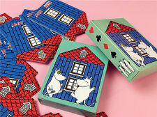 Small Collectable KFC Japan Moomin House Shaped Playing Cards For Kids (Sealed)