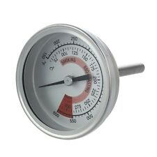 Barbecue BBQ Pit Smoker Grill Thermometer Gauge 300 R9I6 13HE